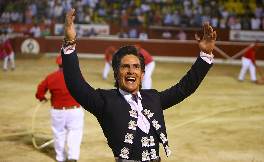 """Vuelta de Gamero, faena importante de Ferrera y """"El Payo"""" cae herido en Mérida"""