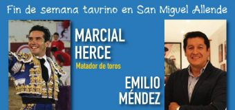 Arte y toreo en el fin de semana taurino en San Miguel Allende