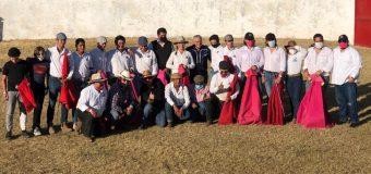 Fin de curso de la Escuela Taurina Queretana
