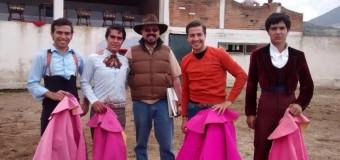 Humberto Quevedo se prepara para su presentación en la Plaza México