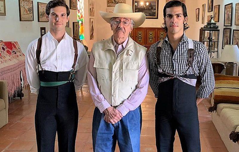 Lomelín y Durán de tienta en Huichapan