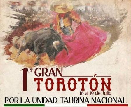 SE ANUNCIA TOROTÓN